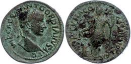 100 Pisidien, Antiochia, Æ (13,72g), Gordianus III., 238-244. Av: Kopf Nach Rechts, Darum Umschrift. Rev: Stehende Fortu - Roman