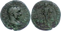 107 Thrakien, Anchialos, Æ (16,49g), Gordianus III., 238-244. Av: Büste Nach Rechts, Darum Umschrift. Rev: Nackter Herku - Roman