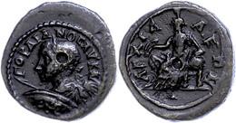 108 Thrakien, Anchialos, Æ (5,76g), Gordianus III., 238-244. Av: Büste Mit Schild Und Speer Nach Links. Rev: Thronende K - Roman