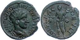 110 Thrakien, Deultum, Æ (6,13g) Gordianus III., 238-244. Av: Büste Nach Rechts, Darum Umschrift. Rev: Stehender Merkur  - Roman