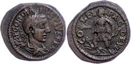 113 Thrakien, Deultum, Æ (7,29g), Gordianus III., 238-244. Av: Büste Nach Rechts, Darum Umschrift. Rev: Stehende Diana M - Roman