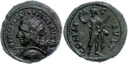 114 Thrakien, Deultum, Æ (8,09g), Gordianus III., 238-244. Av: Büste Mit Schild Und Speer Nach Links, Darum Umschrift. R - Roman