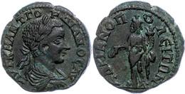 115 Thrakien, Hadrianopolis, Æ (10,35g), Gordianus III.. 238-244. Av: Büste Nach Rechts, Darum Umschrift. Rev: Stehender - Roman