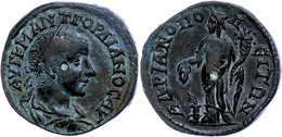 116 Thrakien, Hadrianopolis, Æ (10,46g), Gordianus III., 238-244. Av: Büste Nach Rechts, Darum Umschrift. Rev: Stehende  - Roman