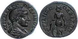 117 Thrakien, Hadrianopolis, Æ (10,71g), Gordianus III., 238-244. Av: Büste Nach Rechts, Darum Umschrift. Rev: Nemesis S - Roman