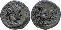 120 Thrakien, Perinthos, Æ (23,15g), Gordianus III., 238-244. Av: Büste Nach Rechts, Darum Umschrift. Rev: Dionysos Mit  - Roman