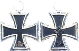 1167 Eisernes Kreuz 2. Klasse, 1939, Mit Band, Leicht Korrodiert, Zustand II-III., Katalog: OEK3824/4 II-III - Army & War