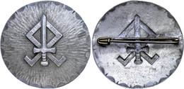 1206 Germanischer Landdienst In Den Niederlanden, Mitgliedsbrosche, Zustand I-II., Katalog: Hüs. K805 A I-II - Army & War