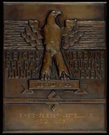 1217 Ehrentafel Des Reichsverbands Für Das Deutsche Hundewesen (RDH) Für Hervorragende Leistung Bei Der 3. Reichssiegera - Army & War