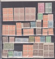 REVENUE, KINGDOM,  King  MIHAI I,  ROMANIA  Lot, Variety  STAMPS AND BLOCX 4 FISCALE - Stamps