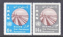 1 RAN  1207-8    *    ECAFE  PETROLEUM  SYMPOSIUM - Iran