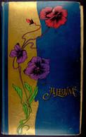 8204 Um 1900, Album Mit 404x Lithografien, Grußkarten, Fotokarten Und Ansichtskarten, Die Ansichtskarten Stammen überwie - Briefmarken