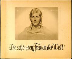 8241 1932, Die Schönsten Frauen Der Welt, Komplettes Album Mit 190 Bildern, Die Schönheitsköniginnen Der Welt Von 1929 - - Deutschland