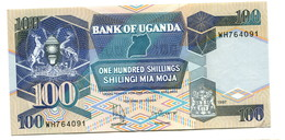 1997 Uganda 100 Shillings Banknote - Uganda