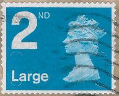 GB SG U2959 2012 Machin 2nd Large MA12 MAIL Good/fine Used [36/30316/ND] - 1952-.... (Elisabetta II)