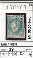 Rumänien - Roumenie - Rumania - Michel 19 - Oo Oblit. Used Gebruikt - 1858-1880 Fürstentum Moldau