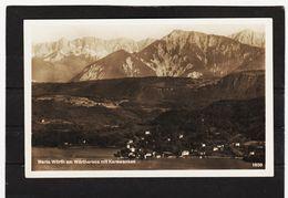 LKW514 POSTKARTE JAHR 1929 MARIA WÖRTH Am WÖRTHERSEE GEBRAUCHT SIEHE ABBILDUNG - Ansichtskarten