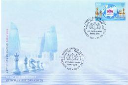 2016. Kyrgyzstan, 42th Chess Olympiad Baku'2016, FDC, Mint/** - Kirghizistan