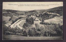 CPA 69 - THURINS - Chemin De Fer Départemental De Lyon, à St-Symphorien-sur-Coise Surnommé TORTILLARD Gare Burlière - France