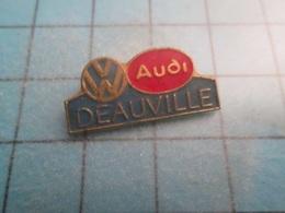 Pin710a Pin's Pins / Beau Et Rare : DEAUVILLE GARAGE BMW AUDI   ,   Marquage Au Dos : - --- - - BMW