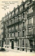 NICE(HOTEL) PENSION DU CONGRES - Cafés, Hôtels, Restaurants