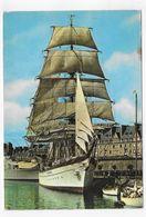 SAINT MALO - LE TROIS MATS GORCH FOCK - CPM GF VOYAGEE - Saint Malo