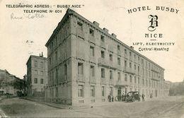 NICE(HOTEL) BUSBY - Cafés, Hôtels, Restaurants