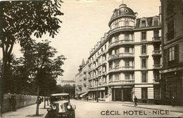 NICE(HOTEL) CECIL - Cafés, Hôtels, Restaurants