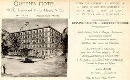 NICE(HOTEL) QUEEN S - Cafés, Hôtels, Restaurants
