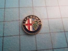 Pin710a Pin's Pins / Beau Et Rare : LOGO DE LA MARQUE DE VOITURES ALFA-ROMEO ,   Marquage Au Dos : - --- - - Alfa Romeo