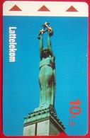 10 Lati Statue - Latvia