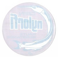 Autocollant - Pour Pare-brise - Pêche - Crin NYLORFI - Haute Résistance - Diamètre: 16 Cm - (14) - Stickers