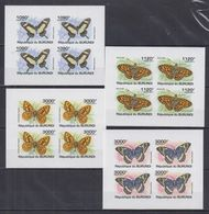 L62. MNH  Burundi 2011 Nature Animals Insects Butterflies Imperf - Schmetterlinge