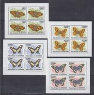 L62. MNH  Burundi 2011 Nature Animals Insects Butterflies - Schmetterlinge
