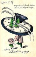 [DC11627] CPA - FIRMATA ROBERT - LE SOURIRE N° 107 - LA MODE EN 1909 - PERFETTA - Non Viaggiata - Old Postcard - Robert