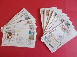 ANDORRE  1 Lot D'enveloppes 1er Jours De L' Année 1978 Et 1979 - Stamps