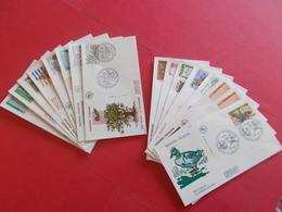 ANDORRE  1 Lot D'enveloppes 1er Jours De L' Année 1984 Et 1985 - Stamps