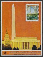 1988 MOZAMBIQUE BF 22** Exposition Philatélique Washington - Mozambique