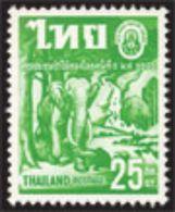 Thailand Stamp 1960 5th World Forestry Congress , Seattle - Thaïlande