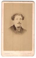 Photo Leborgne, Dieppe, Portrait De Herr Avec Zeitgenöss. Frisur - Personnes Anonymes