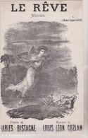 (GB21) Le Rêve , Poesie CHARLES BISTAGNE ; Musique LOUIS COZIAN - Scores & Partitions