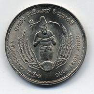 CEYLON 2 RUPEES 1968 FAO - Sri Lanka