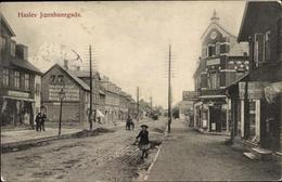 Cp Haslev Faxe Dänemark, Joernbanegade, Straßenpartie - Denmark