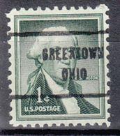 USA Precancel Vorausentwertung Preo, Locals Ohio, Greentown 713 - Vereinigte Staaten