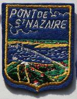 Cb1.t-  PONT De SAINT-NAZAIRE Ecusson Blason à Coudre - Obj. 'Remember Of'