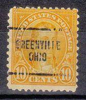 USA Precancel Vorausentwertung Preo, Locals Ohio, Greenville 642-704 - Vereinigte Staaten
