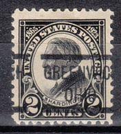 USA Precancel Vorausentwertung Preo, Locals Ohio, Greenwich 610-513 - Vereinigte Staaten