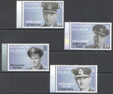 F1238 SOLOMON ISLANDS MILITARY & WAR GREAT COMMANDERS 1SET MNH - 2. Weltkrieg