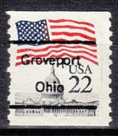 USA Precancel Vorausentwertung Preo, Locals Ohio, Groveport L-1 TS, Perf. Defect - Vereinigte Staaten
