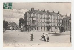 01 Bourg N°29 Place Carriat Société Générale Femme Landau Ancien - Bourg-en-Bresse